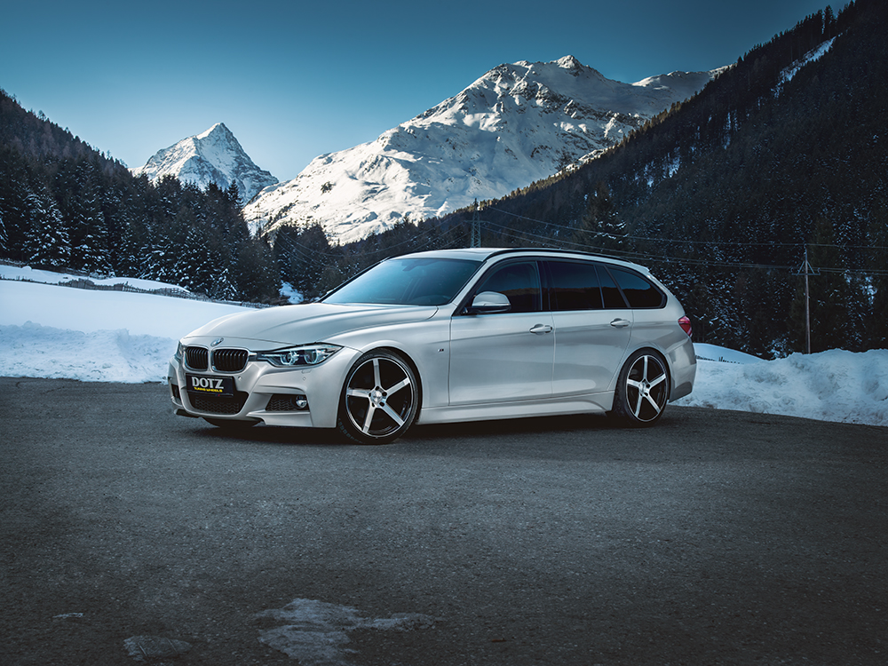 DOTZ CP5 dark BMW3M_winterpic01
